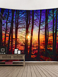 cheap -Wall Tapestry Art Decor Blanket Curtain Hanging Home Bedroom Living Room Decoration and Psychedelic and Abstract and Landscape