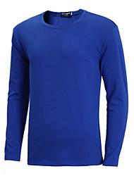 cheap -men's upf 50 uv sun protection performance long sleeve t-shirt -2xl-lightblue