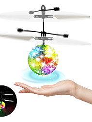 cheap -Flying Ball Luminous Kid's Flight Balls Infrared Induction Aircraft Remote Control Toys Flash LED Light Plane Toys