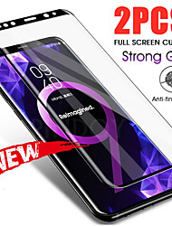 cheap -2PCS Full Curved Tempered Glass For Samsung Galaxy S21+ S21 Ultra Note 20 Screen Protector For Samsung Galaxy S20 S20 Ultra S10 S10 lite Note 10  Protective Film