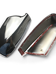 cheap -For Peugeot 307 CC SW 2004 - 2012 Chrome Car Rearview Mirror Cover Frame Shell Wing Mirror Housing Trim Caps