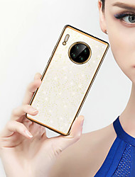 cheap -Simplicity Clear Glitter Case For Mate30 30pro P30 P30pro Mate20 20pro P20pro Glitter Shine Shockproof Back Cover TPU