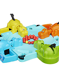 cheap -Board Game Hungry Frog Hippo Animals Professional Parent-Child Interaction Kid's Adults' Boys' Girls' Toys Gifts