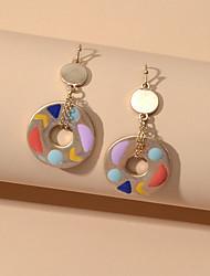 cheap -Drop Earrings Geometrical Trendy Earrings Jewelry Rainbow color For Date Festival