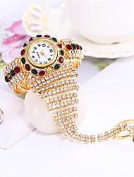 cheap -Women's Bracelet Watch Analog - Digital Quartz Glitter Sparkle Diamond