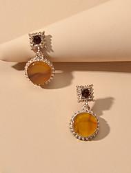 cheap -Women's Drop Earrings Chandelier Sweet Earrings Jewelry Orange For Date Festival