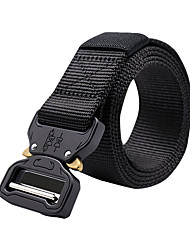 cheap -Men's Military Tactical Belt Breathable Wearable Protective for Camo Nylon Fall Spring Summer