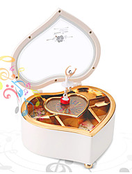 cheap -Music Box Ballerina Music Box Music Box Dancer Classic & Timeless Lighting Unique Plastic Women's Girls' Kid's Adults Graduation Gifts Toy Gift / 14 Years & Up