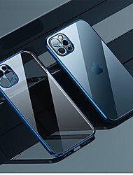cheap -Phone Case For Apple Back Cover iPhone 12 Pro Max 11 SE 2020 X XR XS Max Shockproof Dustproof Transparent Transparent TPU