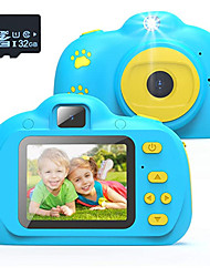 cheap -Kids Camera, Best Birthday Toys for 3 Year Old Girls or 4 Year Old Boy Toy, HD Dual Digital Video Cameras Toys for Kids, Toddlers, Boys and Girls,Age 3 4 5 6 7 8 with 32GB SD Card (Pink)