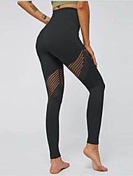 cheap -Seamless High Waist Athletic Leggings Gym Tight Tummy Control Yoga TightsActive Sportswear Girly Area S Black