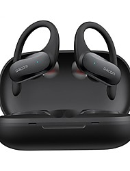 cheap -Sports Workout Earbuds Wireless Ear-hook True Wireless Headphones TWS Bluetooth HiFi Stereo Smart Touch HD Calls Waterproof Earphone with Exquisite Charging Box-DACOM L19
