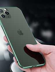 cheap -Phone Case For Apple Bumper iPhone 12 Pro Max 11 SE 2020 X XR XS Max 8 7 Shockproof Solid Color Metal