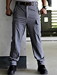 cheap -Men's Hunting Pants Tactical Cargo Pants Hiking Pants Trousers Waterproof Ventilation Quick Dry Breathable Spring Summer Solid Colored for Grey Khaki Black M L XL XXL XXXL