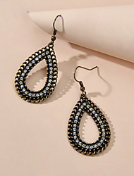 cheap -Women's Drop Earrings Geometrical Vintage Imitation Diamond Earrings Jewelry Bronze For