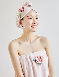cheap -Superior Quality Bath Towel Set, Striped / Fashion 100% Coral Fleece Bathroom 2 pcs