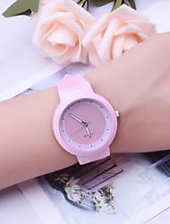 cheap -Women's Quartz Watches Analog Quartz Stylish Minimalist Creative / Silicone