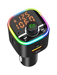 cheap -BC68 Bluetooth 5.0 FM Transmitter / Bluetooth Car Kit Car Handsfree QC 3.0 / MP3 Car
