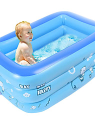 cheap -Inflatable Kiddie Pools for Kids, Kids Pools for Backyard, Inflatable Pools & Inflatable Toddler Swimming Pool for Adult Outdoor Outside Garden Summer Party Ages 3 +
