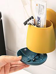 cheap -Tools Washable / Self-adhesive / Storage Modern Contemporary Plastic 2pcs - Shower Cap Bath Organization