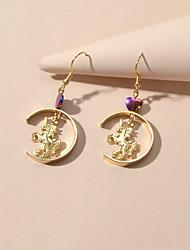 cheap -Women's Drop Earrings Geometrical Trendy Earrings Jewelry Gold For Date Festival