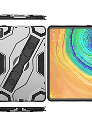 """cheap -Phone Case For Huawei Back Cover Leather MatePad Pro MediaPad M6 8.4"""" MediaPad M6 10.8"""" MatePad T10S 10.1'' Shockproof Solid Color PU Leather TPU"""