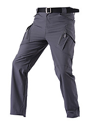 cheap -Men's Hunting Pants Tactical Cargo Pants Hiking Pants Trousers Waterproof Ventilation Quick Dry Breathable Summer Solid Colored Nylon for Grey Khaki Green S M L XL XXL