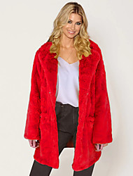 cheap -Women Winter Thick Warm Fur Coat  Parka Long Jacket Outwear Overcoat