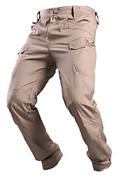cheap -Men's Hunting Pants Tactical Cargo Pants Hiking Pants Trousers Waterproof Ventilation Quick Dry Breathable Fall Spring Summer Solid Colored for Grey Khaki Green S M L XL XXL
