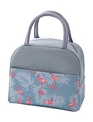 cheap -Unisex Waterproof Oxford Cloth Lunch Bag Zipper Animal Daily Office & Career Handbags A2 color matching 600D flamingo A2 color matching 600D alpaca A2 color matching 600D fish you are blue together