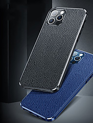 cheap -PU Leather Case For iPhone 12 11 Pro Max Shockproof Camera Lens Protection Solid Colore Back Cover Coque For iPhone XS Max XR X 7 8 PLUS SE2020