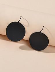 cheap -Women's Drop Earrings Geometrical Trendy Earrings Jewelry Black For Street Date