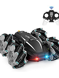 cheap -Remote Control Car, RC Cars Boys/Girls Kids Toys Christmas Birthday Gift for Age 6 7 8 9 10 11 12, High Speed Drift Vehicle, Double Sided 360° Rotating, 4WD, Rechargeable Batteries (Built-in)