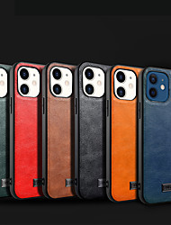 cheap -Phone Case For Apple Back Cover iPhone 12 Pro Max 11 SE 2020 X XR XS Max 8 7 6 Shockproof Dustproof Solid Colored TPU PC