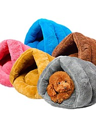 cheap -Dog Cat Dog Beds Cat Beds Dog Bed Mat Shell Warm Multi layer Soft Elastic For Indoor Use Fabric for Large Medium Small Dogs and Cats