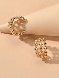 cheap -Women's Stud Earrings Geometrical Fashion Trendy Earrings Jewelry Gold / Silver For Date