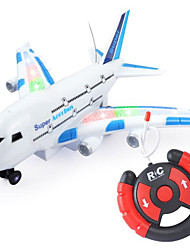 cheap -Toy Airplane Plane Classic Theme Remote Control / RC Simulation Exquisite Plastic & Metal Kid's Unisex Toy Gift 1 pcs / Parent-Child Interaction / 14 years+