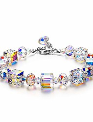 cheap -Bracelets for Women Made with Crystals from Swarovski, Gifts for Women, Northern Lights Jewelry for Women, Valentines Day Gifts for Her, Birthday Gifts for Wife Best Friend Mom Grandma