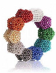 cheap -216/512/1000 pcs 5mm Magnet Toy Magnetic Balls Building Blocks Super Strong Rare-Earth Magnets Neodymium Magnet Neodymium Magnet Classic & Timeless Stress and Anxiety Relief Office Desk Toys DIY