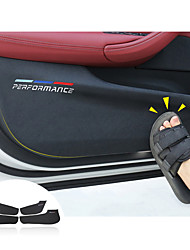 cheap -Car Interior Door Anti-dirty Pad Anti-Kick Pad Door Protection Cover for BMW F30 F34 F10 F48 F25 F26 F15 F16 F01 G30 G32 G01