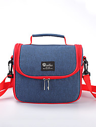 cheap -Unisex Waterproof Polyester Lunch Bag Zipper Solid Color Daily Office & Career Handbags Blue Gray Mint Green Orange