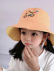 cheap -1pcs Kids Unisex Basic Birthday / Casual / Daily Wear Cartoon Stylish Cotton Hats & Caps Black / Blushing Pink / Orange S