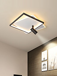 cheap -46/56 cm LED Dimmable Ceiling Light With Spot Light Geometric Shapes Flush Mount Lights Aluminium Alloy Artistic Style Modern Style Stylish Painted Finishes LED Modern 220-240V