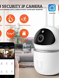 cheap -INQMEGA Tuya WiFi 1080P Cloud Wireless IP Camera Baby Monitor Auto Tracking Security Indoor Camera
