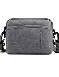 cheap -Men's Bags Nylon Crossbody Bag Zipper Plain Daily 2021 Messenger Bag Light Gray Black Blue Green