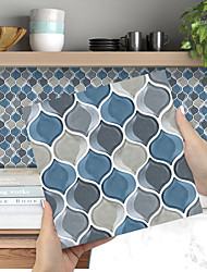 cheap -Imitation Epoxy Tile Sticker Color Lantern Wall Sticker House Renovation Diy Self-adhesive Pvc Wallpaper Painting Kitchen Waterproof And Oilproof Wall Sticker