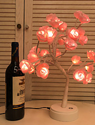 cheap -Irregular Decoration Light Night Light Rose Tree Wedding Birthday Valentine's Day New Year's 1 set