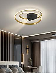 cheap -45/55 cm Circle Design Flush Mount Lights Aluminium Alloy Modern Style Stylish Painted Finishes LED Modern 220-240V