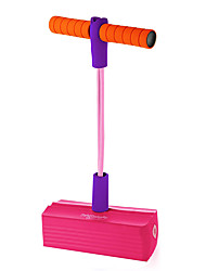 cheap -Foam Pogo Jumper for Kids 100% Safe Pogo Stick, Strong Bungee Toy for Toddlers, Fun Foam Hopper for Children Boys/Girls, Squeaks with Each Hop! Supports up to 250lbs (Pink)