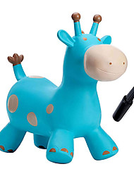 cheap -Babe Fairy Giraffe Bouncy Horse Hopper for Toddlers-Jumping Horse Bouncy Buddies-Inflatable Bouncy Animals Hopping Toys with Pump-Gift for 18 Months 2 3 4 Year Old Kid Girl Boy(W/ Pump)